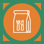 Preparazione, confezionamento e distribuzione di pasti caldi da asporto - cosec
